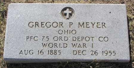 MEYER, GREGOR PETTER - Yavapai County, Arizona   GREGOR PETTER MEYER - Arizona Gravestone Photos