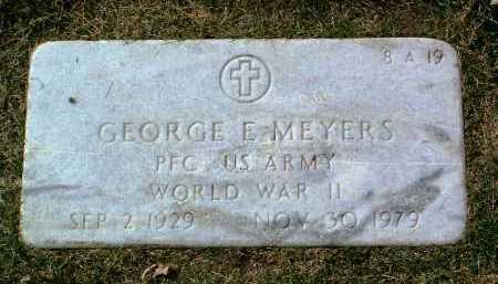 MEYERS, GEORGE EARL - Yavapai County, Arizona   GEORGE EARL MEYERS - Arizona Gravestone Photos