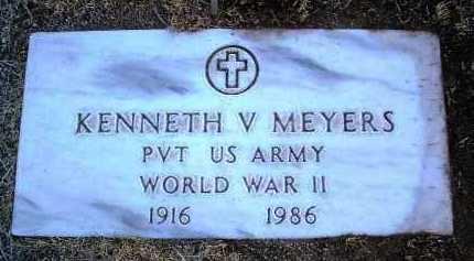 MEYERS, KENNETH VALENTINE - Yavapai County, Arizona   KENNETH VALENTINE MEYERS - Arizona Gravestone Photos