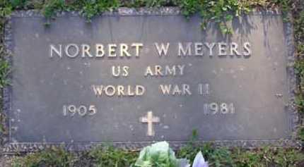 MEYERS, NORBERT W. - Yavapai County, Arizona   NORBERT W. MEYERS - Arizona Gravestone Photos