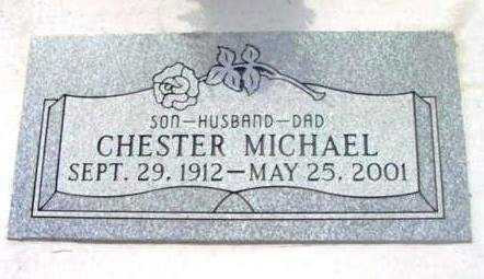 MICHAEL, CHESTER A. - Yavapai County, Arizona   CHESTER A. MICHAEL - Arizona Gravestone Photos