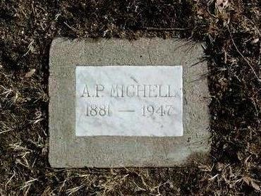 MICHELL, ATHANASIOUS PETER - Yavapai County, Arizona | ATHANASIOUS PETER MICHELL - Arizona Gravestone Photos