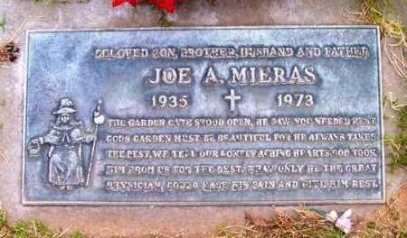 MIERAS, JOE ADELIO - Yavapai County, Arizona | JOE ADELIO MIERAS - Arizona Gravestone Photos