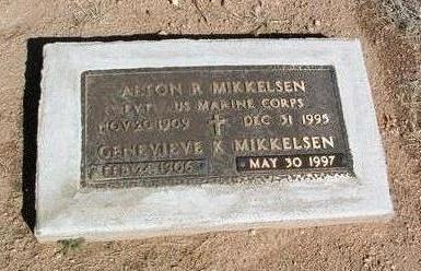 KENNEDY MIKKELSEN, GENEVIEVE K. - Yavapai County, Arizona | GENEVIEVE K. KENNEDY MIKKELSEN - Arizona Gravestone Photos