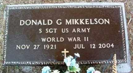 MIKKELSON, DONALD G. - Yavapai County, Arizona | DONALD G. MIKKELSON - Arizona Gravestone Photos