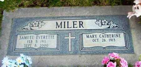 MILER, MARY CATHERINE - Yavapai County, Arizona   MARY CATHERINE MILER - Arizona Gravestone Photos