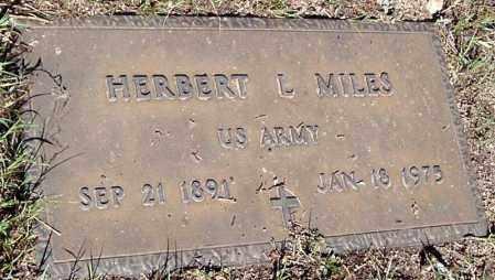 MILES, HERBERT LEWIS - Yavapai County, Arizona | HERBERT LEWIS MILES - Arizona Gravestone Photos
