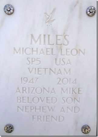 MILES, MICHAEL LEON - Yavapai County, Arizona   MICHAEL LEON MILES - Arizona Gravestone Photos