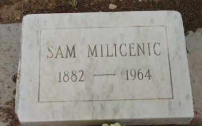 MILICENIC, SAM - Yavapai County, Arizona | SAM MILICENIC - Arizona Gravestone Photos