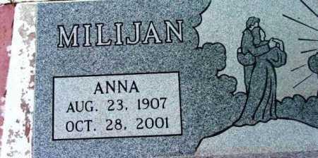MILIJAN, ANNA - Yavapai County, Arizona | ANNA MILIJAN - Arizona Gravestone Photos