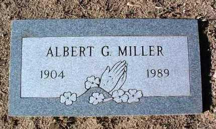 MILLER, ALBERT G. - Yavapai County, Arizona | ALBERT G. MILLER - Arizona Gravestone Photos