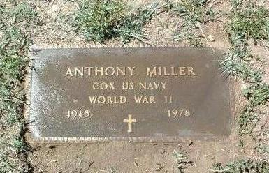 MILLER, ANTHONY - Yavapai County, Arizona   ANTHONY MILLER - Arizona Gravestone Photos