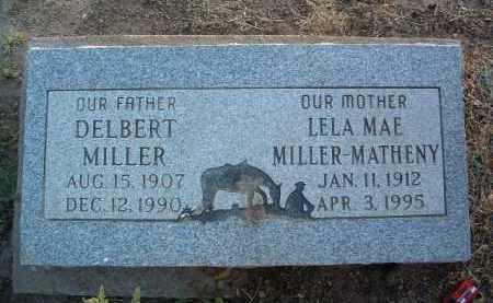 MILLER, DELBERT - Yavapai County, Arizona | DELBERT MILLER - Arizona Gravestone Photos