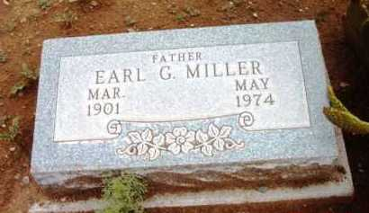 MILLER, EARL G. - Yavapai County, Arizona | EARL G. MILLER - Arizona Gravestone Photos