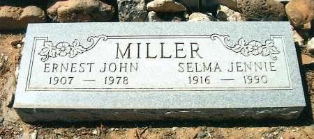 MILLER, ERNEST JOHN - Yavapai County, Arizona | ERNEST JOHN MILLER - Arizona Gravestone Photos