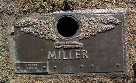 MILLER, ELSA UTTKE - Yavapai County, Arizona   ELSA UTTKE MILLER - Arizona Gravestone Photos