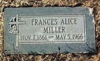 MILLER, FRANCES ALICE - Yavapai County, Arizona | FRANCES ALICE MILLER - Arizona Gravestone Photos