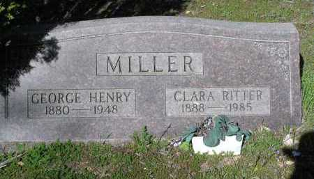 RITTER MILLER, CLARA - Yavapai County, Arizona | CLARA RITTER MILLER - Arizona Gravestone Photos