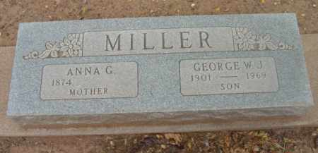 THOMAS MILLER, ANNA G. - Yavapai County, Arizona | ANNA G. THOMAS MILLER - Arizona Gravestone Photos