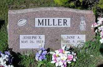 MILLER, JOSEPH XAVIER - Yavapai County, Arizona   JOSEPH XAVIER MILLER - Arizona Gravestone Photos