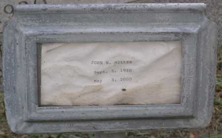 MILLER, JOHN W. - Yavapai County, Arizona | JOHN W. MILLER - Arizona Gravestone Photos
