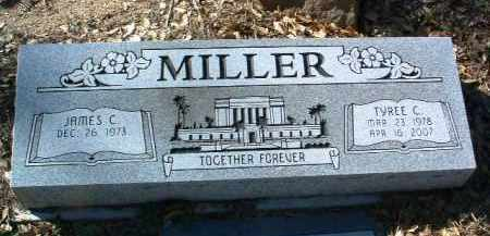 MILLER, JAMES C. - Yavapai County, Arizona | JAMES C. MILLER - Arizona Gravestone Photos