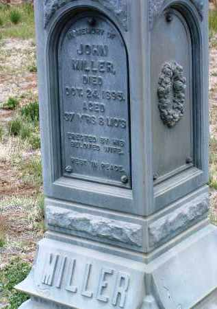MILLER, JOHN - Yavapai County, Arizona | JOHN MILLER - Arizona Gravestone Photos