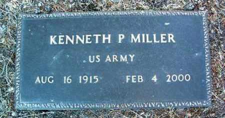 MILLER, KENNETH P. - Yavapai County, Arizona | KENNETH P. MILLER - Arizona Gravestone Photos