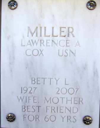 MILLER, LAWRENCE A. - Yavapai County, Arizona | LAWRENCE A. MILLER - Arizona Gravestone Photos