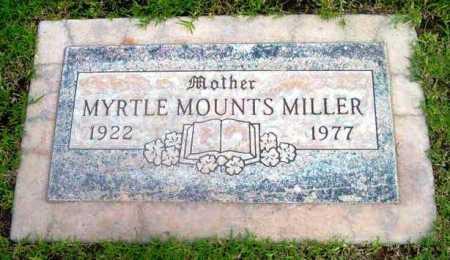 MOUNTS MILLER, MYRTLE MARIE - Yavapai County, Arizona | MYRTLE MARIE MOUNTS MILLER - Arizona Gravestone Photos
