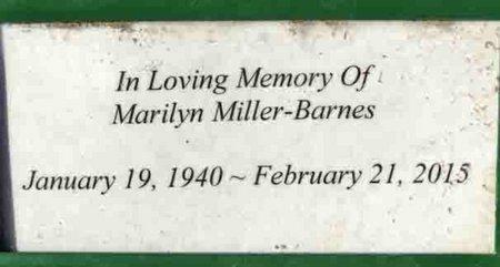 MILLER, MARILYN - Yavapai County, Arizona | MARILYN MILLER - Arizona Gravestone Photos