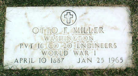 MILLER, OTTO  F. - Yavapai County, Arizona   OTTO  F. MILLER - Arizona Gravestone Photos