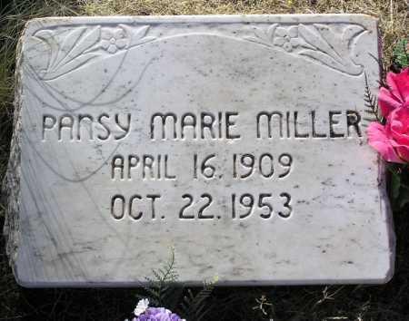 FARLEY MILLER, PANSY MARIE - Yavapai County, Arizona   PANSY MARIE FARLEY MILLER - Arizona Gravestone Photos