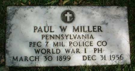 MILLER, PAUL W. - Yavapai County, Arizona | PAUL W. MILLER - Arizona Gravestone Photos