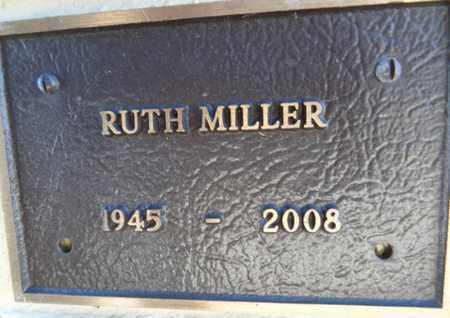 MILLER, RUTH M. - Yavapai County, Arizona | RUTH M. MILLER - Arizona Gravestone Photos