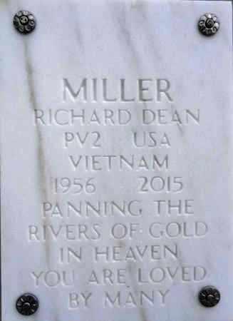 MILLER, RICHARD DEAN - Yavapai County, Arizona | RICHARD DEAN MILLER - Arizona Gravestone Photos