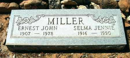 MILLER, SELMA JENNIE - Yavapai County, Arizona | SELMA JENNIE MILLER - Arizona Gravestone Photos