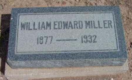 MILLER, WILLIAM EDWARD - Yavapai County, Arizona   WILLIAM EDWARD MILLER - Arizona Gravestone Photos