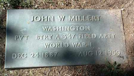 MILLERT, JOHN W. - Yavapai County, Arizona   JOHN W. MILLERT - Arizona Gravestone Photos