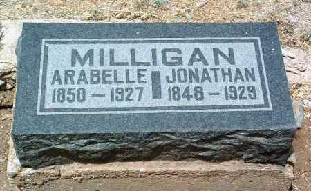 MILLIGAN, ARABELLA - Yavapai County, Arizona | ARABELLA MILLIGAN - Arizona Gravestone Photos