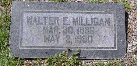 MILLIGAN, WALTER EDWIN - Yavapai County, Arizona | WALTER EDWIN MILLIGAN - Arizona Gravestone Photos