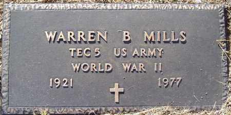 MILLS, WARREN B. - Yavapai County, Arizona | WARREN B. MILLS - Arizona Gravestone Photos