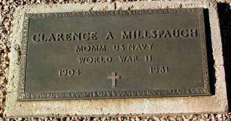 MILLSPAUGH, CLARENCE A. - Yavapai County, Arizona | CLARENCE A. MILLSPAUGH - Arizona Gravestone Photos