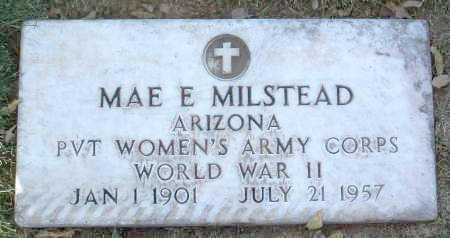 MILSTEAD, MAE E. - Yavapai County, Arizona | MAE E. MILSTEAD - Arizona Gravestone Photos