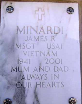 MINARDI, JAMES RICHARD - Yavapai County, Arizona | JAMES RICHARD MINARDI - Arizona Gravestone Photos