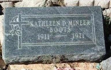 MINEER, KATHLEEN DELORES - Yavapai County, Arizona | KATHLEEN DELORES MINEER - Arizona Gravestone Photos