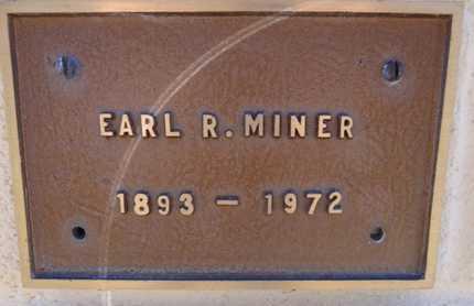 MINER, EARL RAYMOND - Yavapai County, Arizona | EARL RAYMOND MINER - Arizona Gravestone Photos