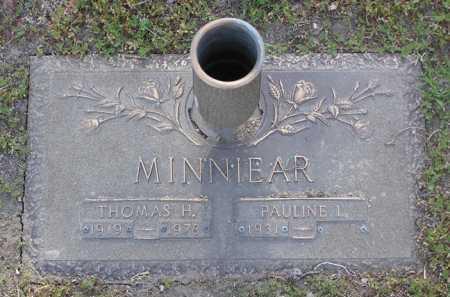 MINNIEAR, PAULINE L. - Yavapai County, Arizona   PAULINE L. MINNIEAR - Arizona Gravestone Photos