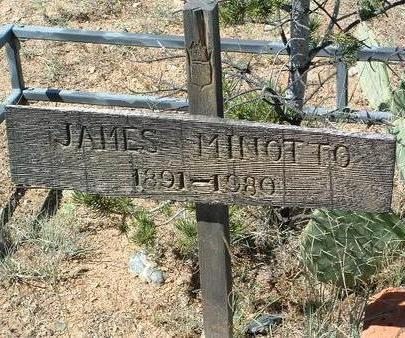 MINOTTO, JAMES - Yavapai County, Arizona | JAMES MINOTTO - Arizona Gravestone Photos
