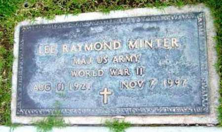 MINTER, LEE RAYMOND - Yavapai County, Arizona | LEE RAYMOND MINTER - Arizona Gravestone Photos